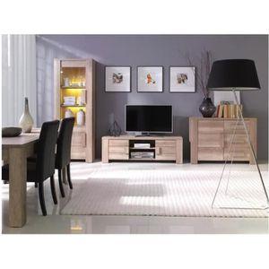 ENSEMBLE MEUBLES DE SALON Ensemble meubles de salon complete FERRARA. Vitrin