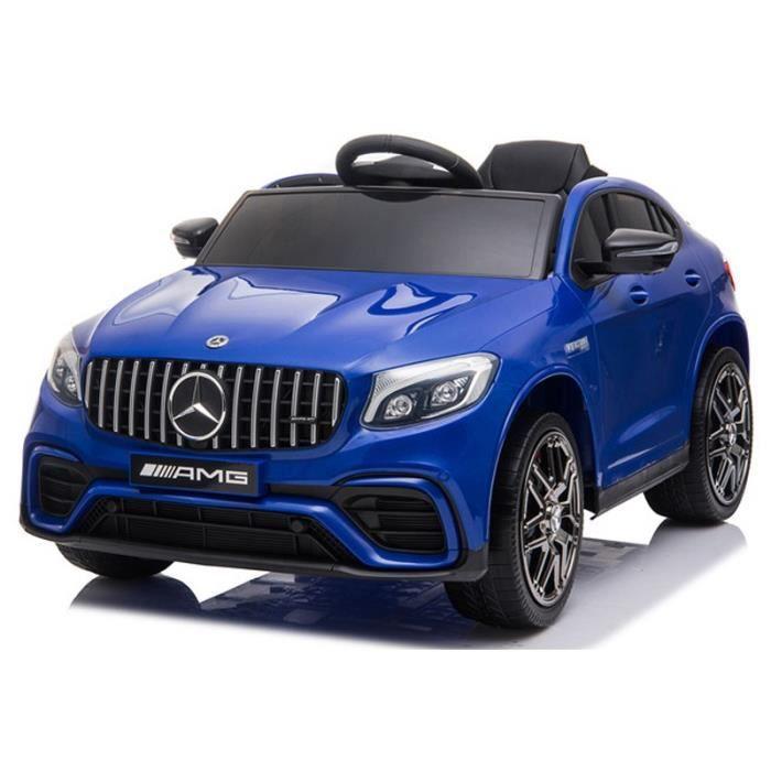 Mercedes GLC Coupé Bleu - Voiture électrique pour enfant avec batterie 12v et télécommande