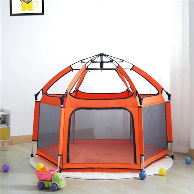 enfants jouet tente bébé jouer maison Portable extérieur et intérieur pliant fermeture éclair tente fille garçon balles de piscine