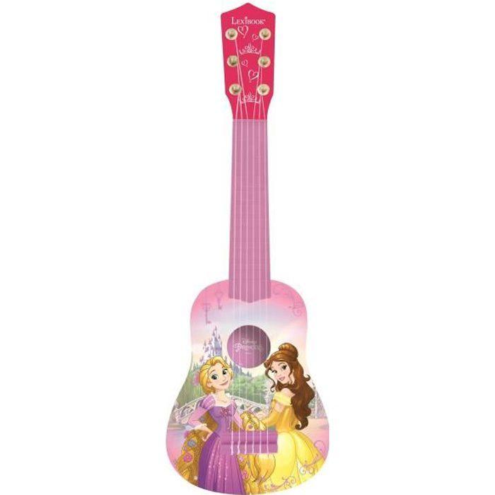 DYNNE PRINCESSES Guitare acoustique enfant 53 cm LEXIBOOK