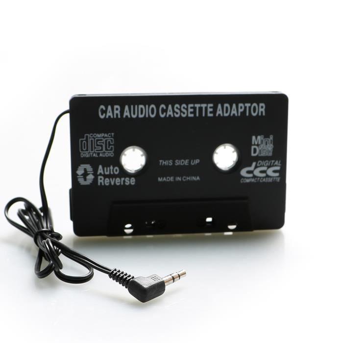 Cassette Adaptateur Autoradio / Voiture Stéréo Audio Jack iphone/ipod/Samsung Grand prime Android MP3 DVD radio CD Lecteur