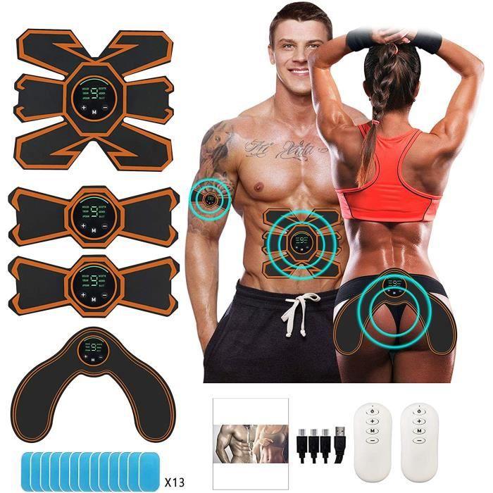 Electrostimulateur Musculaire- Hip Trainer EMS Ceinture Abdominale Electrostimulation ABS Stimulateur Musculaire Appareil