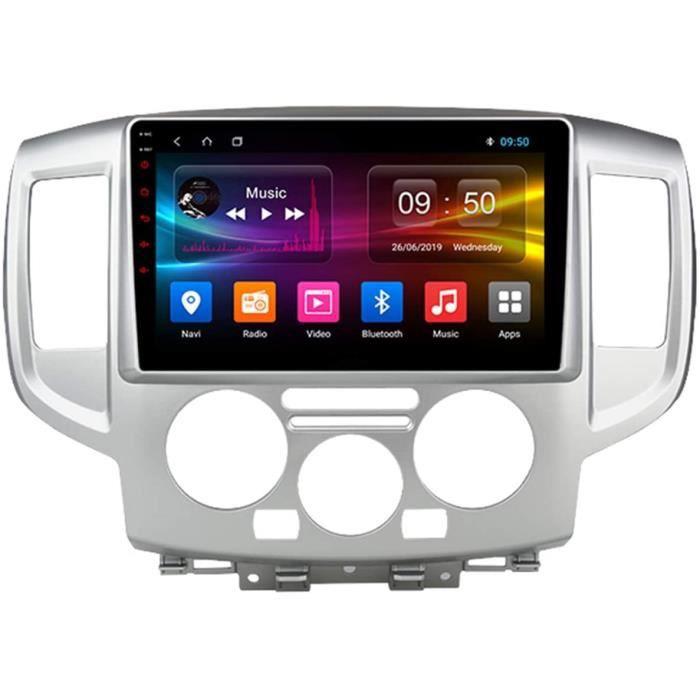 Autoradio Récepteur Multimédia Car Radio Voiture Stéréo 9 Pouces Autoradio Bluetooth pour Nissan NV200 2010-2018 Main Libre a[157]