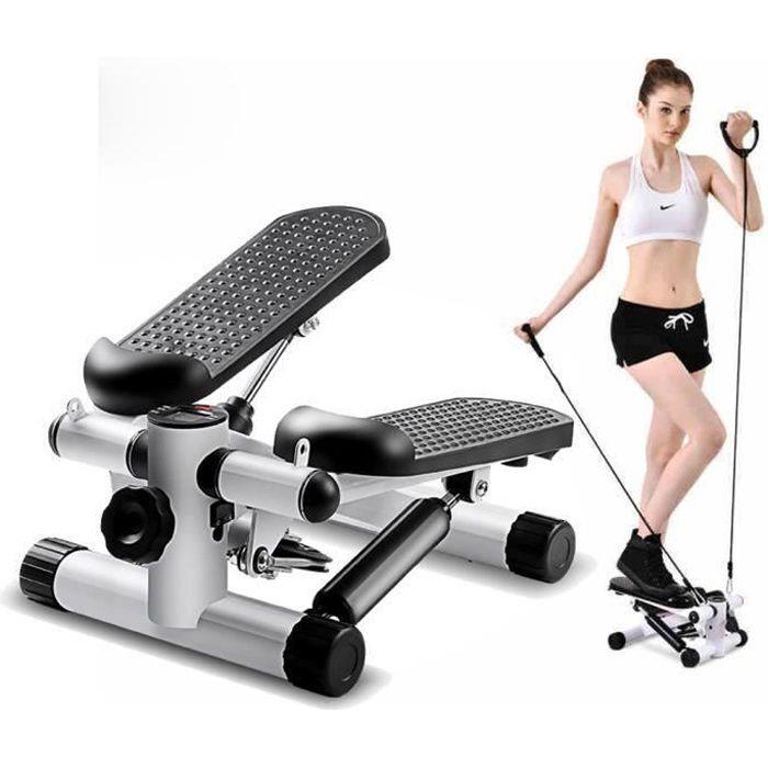 Mini Stepper Marcheur Machine Jambe Fitness Entraînement Musculaire Exercise