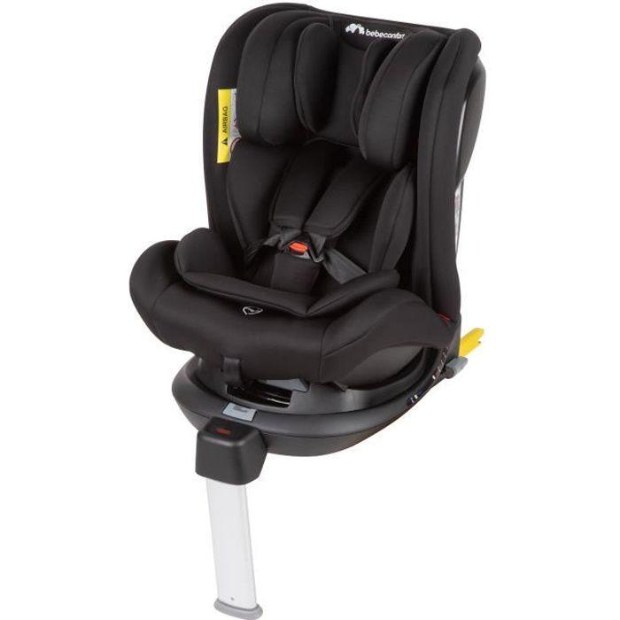BEBE CONFORT Evolvefix siège auto rotatif GR 0+/1/2/3, De la naissance à 12 ans (0-36kg), Night Black