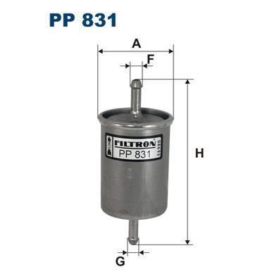 FILTRON Filtre à carburant PP 831