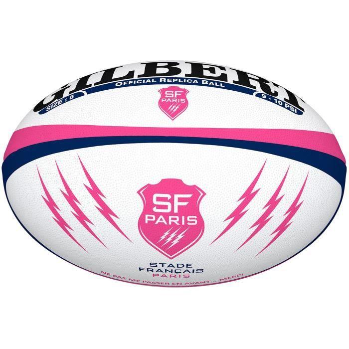 GILBERT Ballon de rugby Replica Stade Français T5