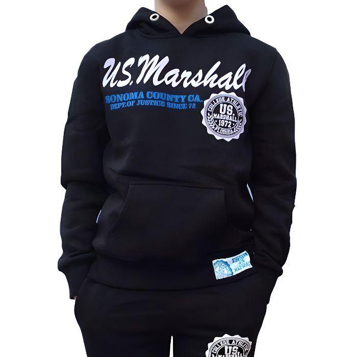 Sweat Enfant US MARSHALL noir