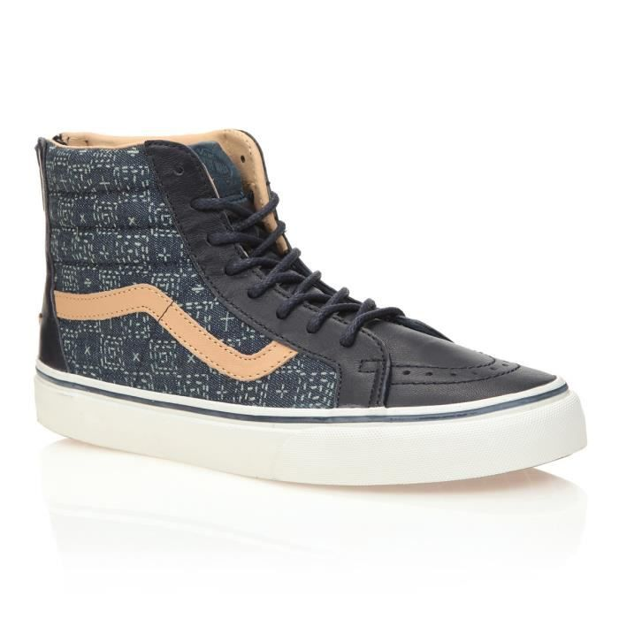 VANS Chaussures Sk8-Hi Zip Bleu Femme