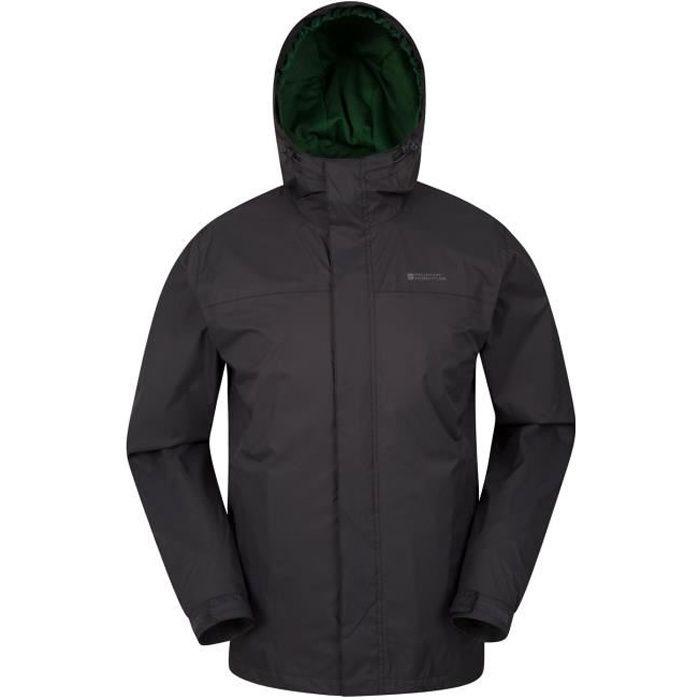 Mountain Warehouse Torrent veste Homme Blouson Imperméable à Capuche Multi