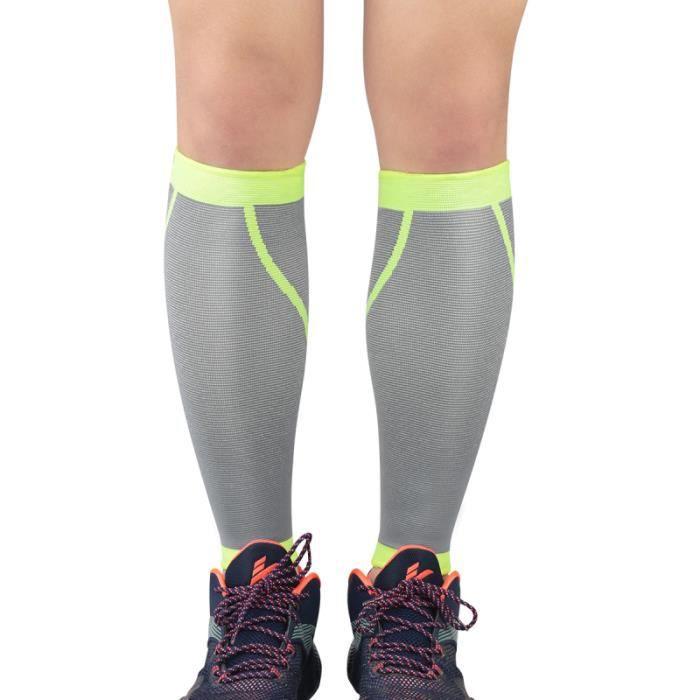 2pcs manchons de jambe de mollet durables utiles portables pour la CHAUSSETTES DE RECUPERATION - CHAUSSETTES DE COMPRESSION