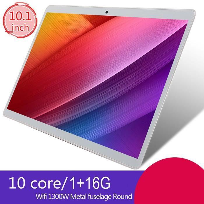 Tablette PC 10 pouces 1 + 16G ANDROID Système d'exploitation double caméra grande capacité de batterie