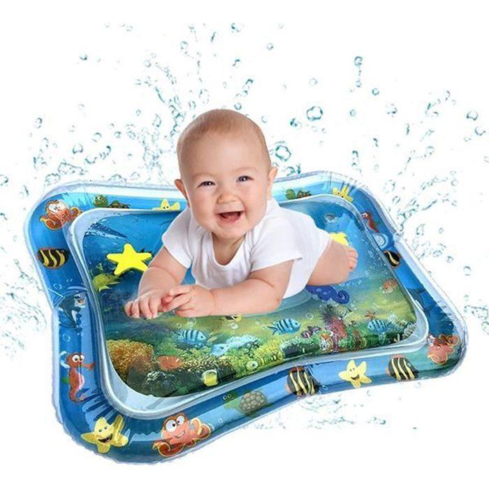 TAPIS D'EVEIL - AIRE D'EVEIL - Bébé Enfants - Tapis D'eau Gonflable - Tapis de Jeu Coussin - Jouets Éducation Précoce