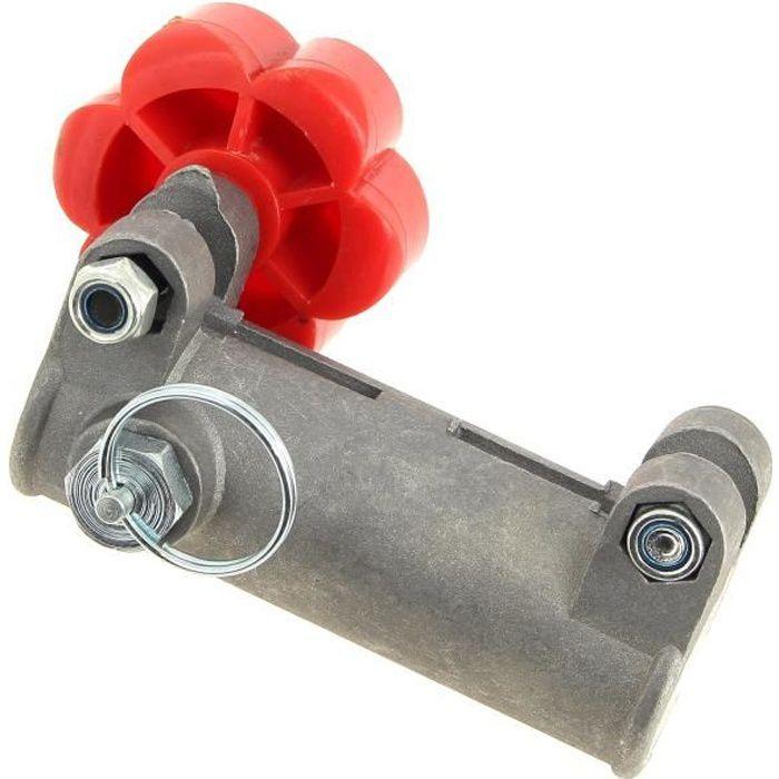 Jonction transmission rouge d = 25 mm pour Debroussailleuse Racing, Debroussailleuse Tck garden, Debroussailleuse Brico depot -