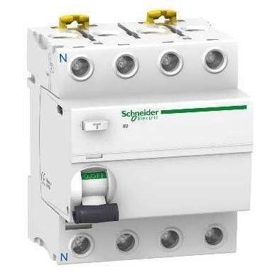 Interrupteur diff 4P 40A 300mA S type AC