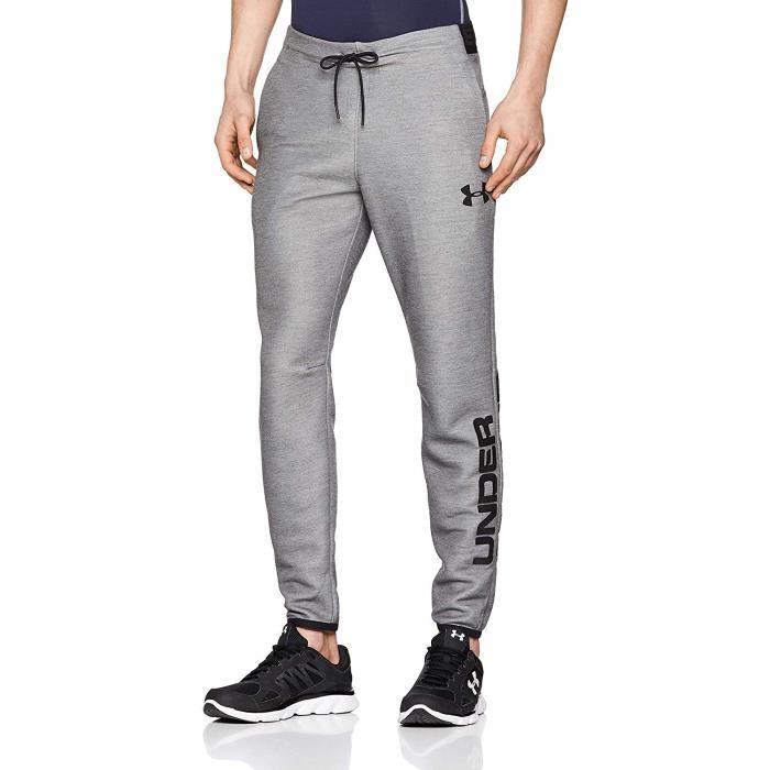 Under Armour Move Light Graphic Pant Pantalon Homme, Gris, XL - 1345774-002