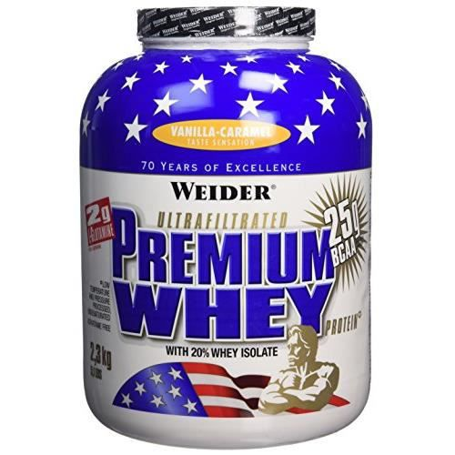 WEIDER Sachet de Premium Whey Vanille-Caramel 2.3kg