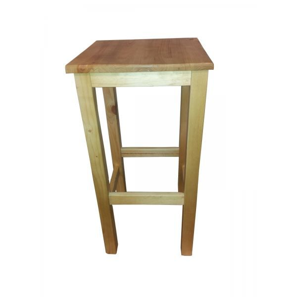 tabouret de bar pin massif miel achat vente tabouret cdiscount. Black Bedroom Furniture Sets. Home Design Ideas