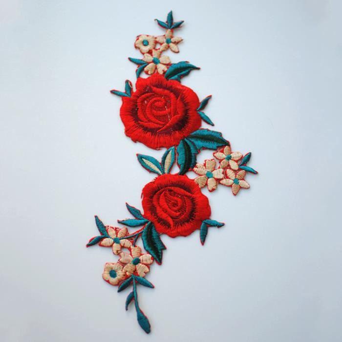 mariage blanc fleur 3-d application saumon dentelle un écusson gris rose