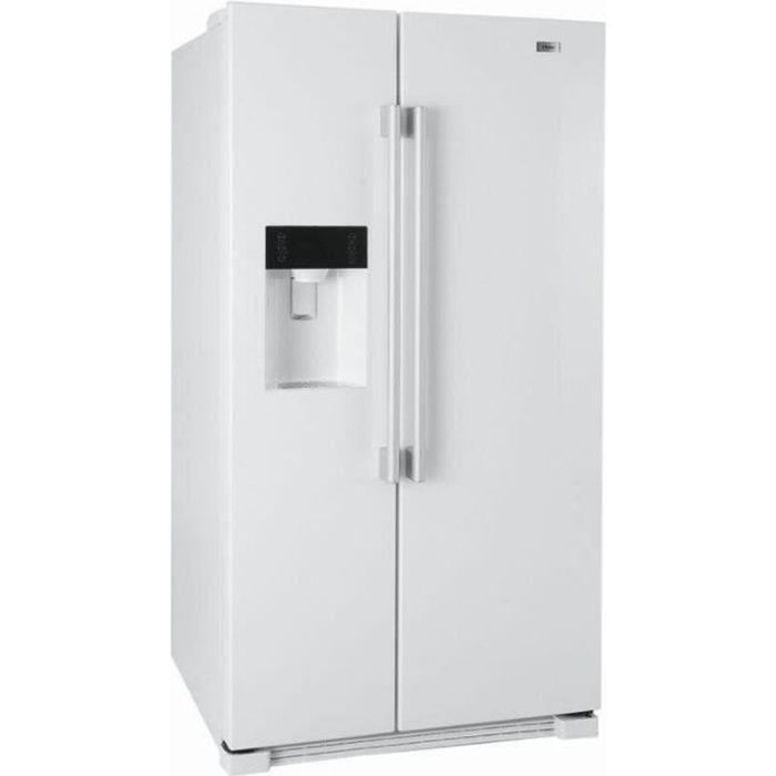 refrigerateur americain blanc achat vente refrigerateur americain blanc pas cher soldes. Black Bedroom Furniture Sets. Home Design Ideas