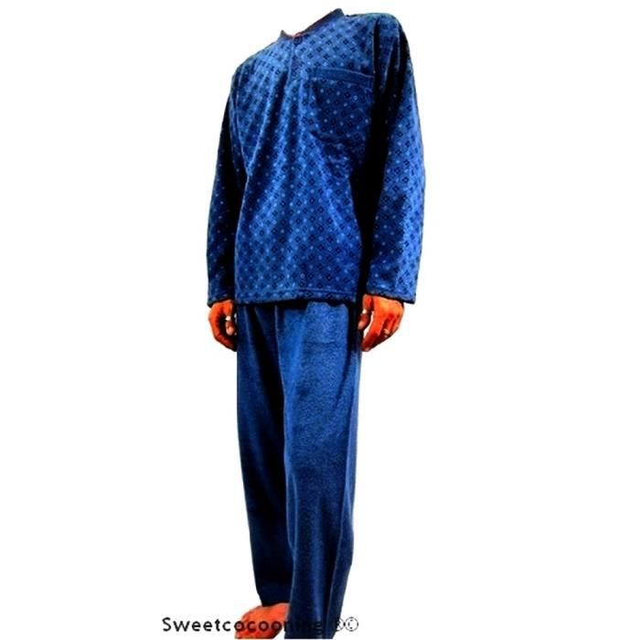 Pyjama homme chaud molleton for Pyjama homme chaud