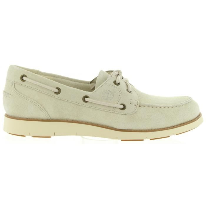chaussures bateau femme timberland