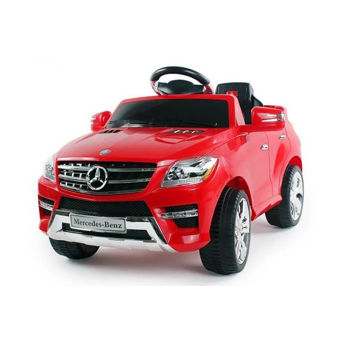 voiture lectrique pour enfant mercedes ml 350 rouge. Black Bedroom Furniture Sets. Home Design Ideas