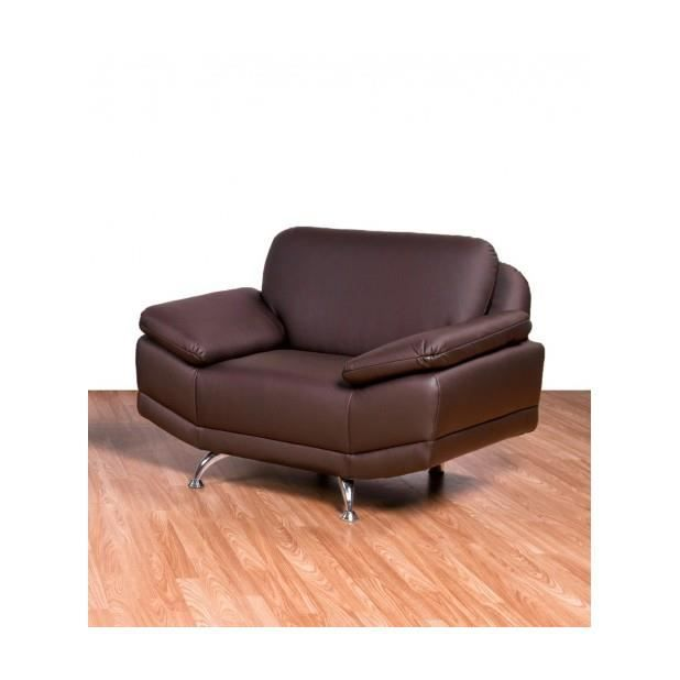 fauteuil ottawa couleur chocolat achat vente. Black Bedroom Furniture Sets. Home Design Ideas