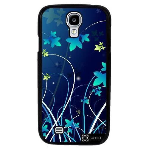 coque samsung galaxy s4 mini gt i9195 dessin fleurs. Black Bedroom Furniture Sets. Home Design Ideas