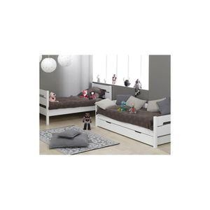 lit superpose pour fille achat vente lit superpose pour fille pas cher soldes d s le 10. Black Bedroom Furniture Sets. Home Design Ideas
