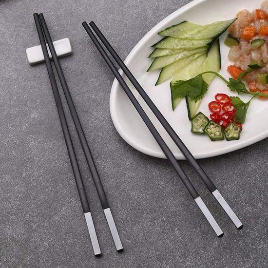 Cuisine Arts De La Table 1 Pairs Baguettes Chopsticks Inox