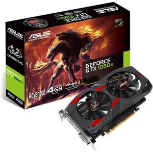 CARTE GRAPHIQUE INTERNE ASUS GeForce GTX 1050 Ti 4 Go Cerberus (CERBERUS-G