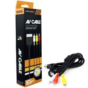 CÂBLE JEUX VIDEO Câble AV RCA 1,82m Audio S-Vidéo Composite Pour TV