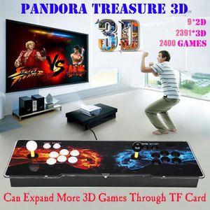 JOYSTICK JEUX VIDÉO 2400 en 1 Jeux Vidéo 3D Console Double Arcade Stic