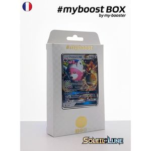 CARTE A COLLECTIONNER Coffret #myboost CHELOURS GX SM34 - Soleil et Lune