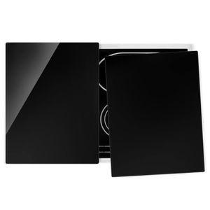 PLAQUE INDUCTION Couvre plaque de cuisson - Tiefschwarz - 52x80cm,