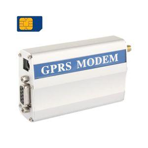 MODEM - ROUTEUR RS232 GPRS Modem / GSM Modem, Support SIM, GSM: 90
