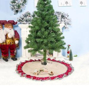Arbre de Noël jupe base Grande Peluche Père Noël Noël Plancher Housse 100 cm NEUF