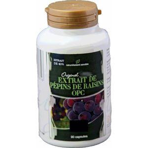 MÉNOPAUSE - ANDROPAUSE OPC de pépins de raisin (extrait) - 90 gélules - 5