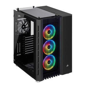 BOITIER PC  Corsair Crystal Series 680X RGB, Flux d'air élevée