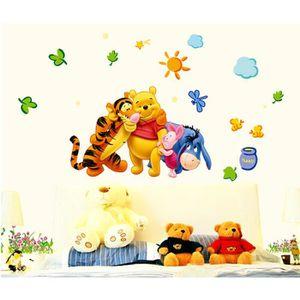 STICKERS Demarkt Sticker Mural Winnie l'Ourson Tigger Pooh