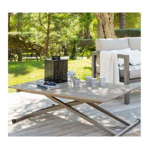 Achat TABLE VENEZIA CAFE 2 REGLABLE HESPERIDE HAUTEURS rtQdhCs