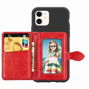 COQUE - BUMPER Coque iPhone 11,Rouge Antichoc Souple Silicone et