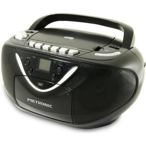 RADIO CD CASSETTE MET 477131 Radio CD/MP3 - Cassette