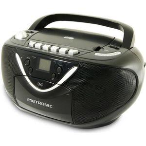 RADIO CD CASSETTE MET 477131 Radio CD/MP3 - Cassette