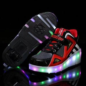 CHAUSSURES MULTISPORT chaussures lumineuses chaussures de roller skate p