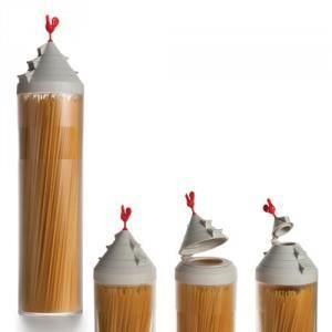 BOITES DE CONSERVATION Cadeau Boîte et doseur Spaghetti Tower