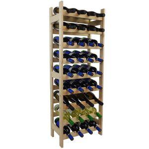 MEUBLE RANGE BOUTEILLE Étagère à bouteilles de vin BACCHUS basic pour 36
