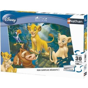 PUZZLE LE ROI LION Puzzle Simba & Co 30 pcs - Disney