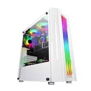 BOITIER PC  Boîtier PC 3SSD 1HDD ATX/MATX/ITX 8 Ventilateurs P